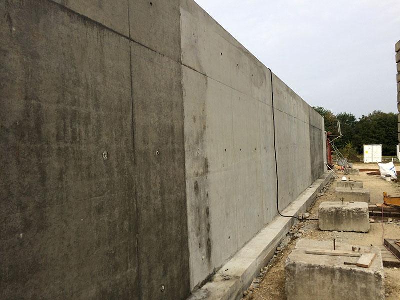Construction d un mur de sout nement ma onnerie nombret entreprise de ma onnerie g n rale - Construction mur de soutenement ...