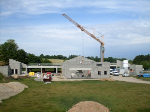 Construction du groupe scolaire de Janneyrias