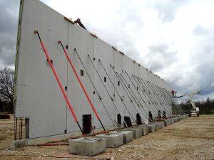 Maconnerie construction neuve zone commerciale