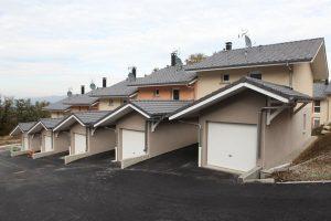 Maçonnerie Nombret construction logements avec garage