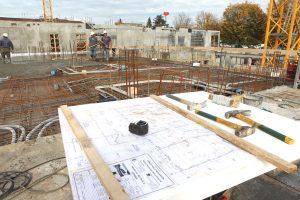 Maçonnerie Nombret construction immeuble fondation terrassement
