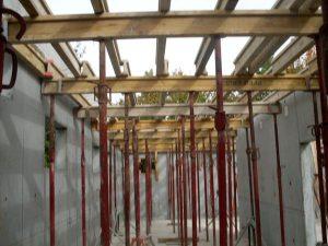 Construction du restaurant scolaire en Isère en béton