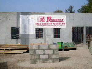 Construction pour les collectivités en béton en Isère