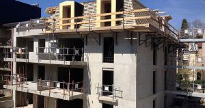 Construction logements immeuble