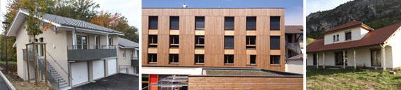 Construction d'immeubles, de maisons individuelles, villas dans l'Ain, Isère et Savoie