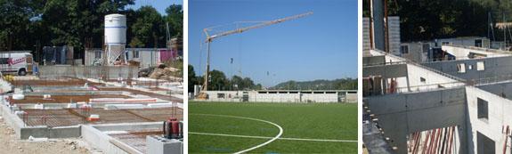 Commune de Creys-Mepieu : construction du pole vestiaire et accueil de l'USCM