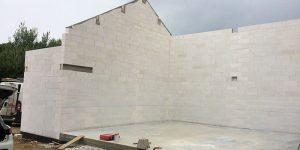 Rénovation d'une grange en béton cellulaire