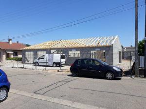 conconstruction d'une maison -parpaings - Lyon