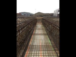 Construction d'un silo à Viry