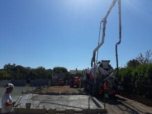 Construction villa - fondations