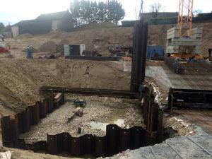 Maçonnerie : silo à Morestel