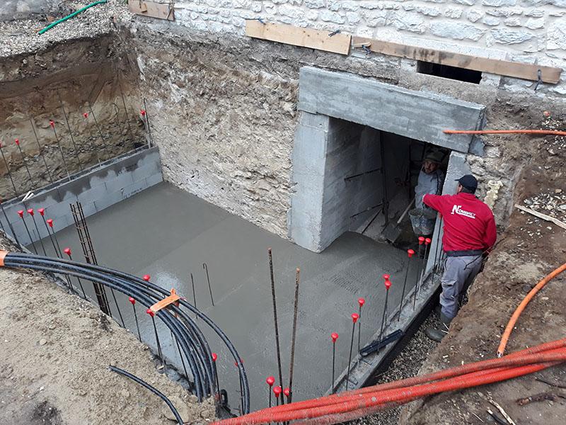 Rénovation et extension d'une maison ancienne