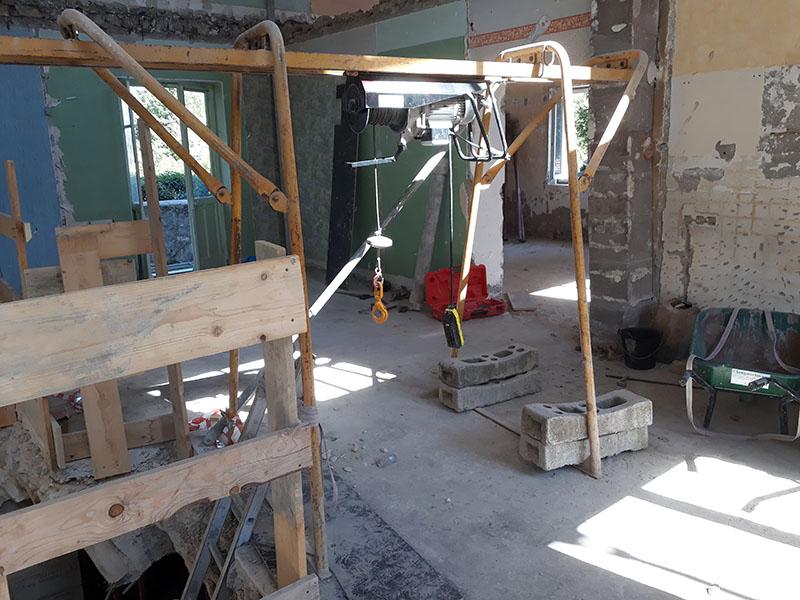 Rénovation et extension d'une maison en Isère