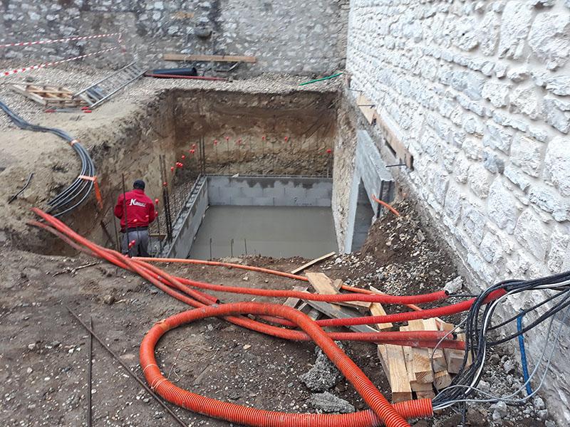 Rénovation et extension d'une maison à Morestel