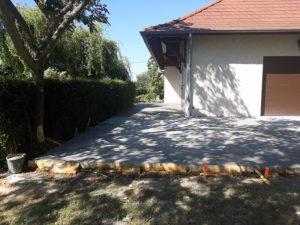 Maçonnerie Nombret travaux de construction de terrasse à Ruy