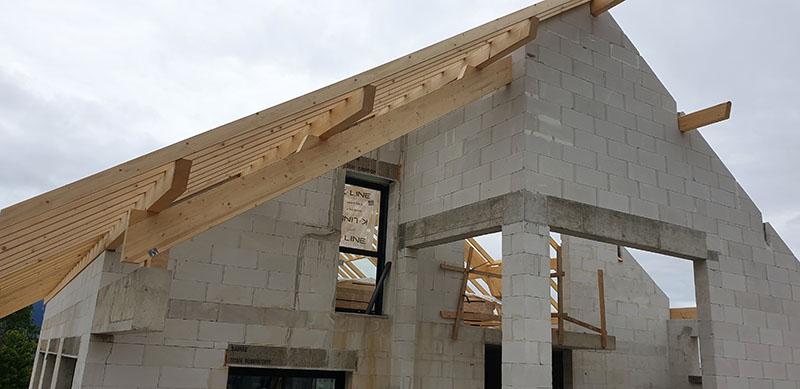 Construction d'une villa en Savoie