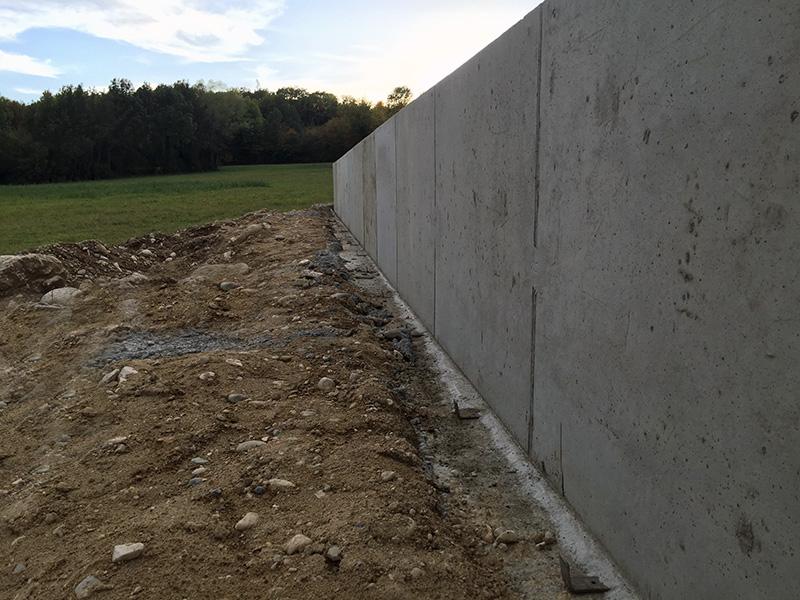 Travaux de maçonnerie terrassement