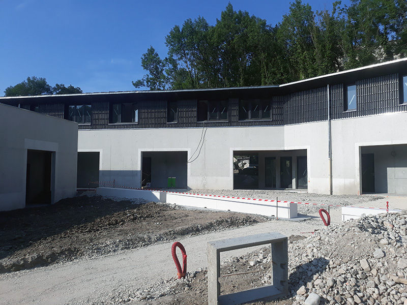 Construction de la MFR de Morestel