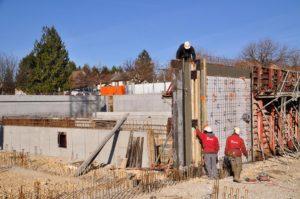 Terrassement, coffrage et ferraillage à Morestel