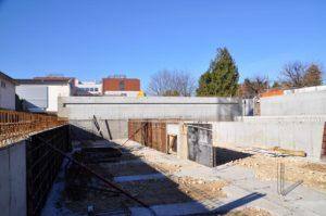 Construction de la piscine municipale de Morestel