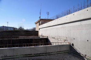 Entreprise de maçonnerie générale Nombret, chantier en Isère