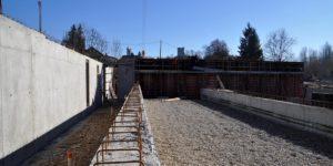 Entreprise de maçonnerie générale Nombret, chantier à Morestel
